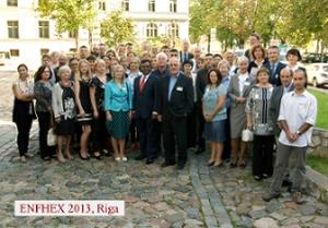 Η διάλεξη του Χαρτουλάριου Ι.Κ.Ε. στο συνέδριο ENFSI/ENFHEX 2013 στη Ρίγα της Λετονίας.