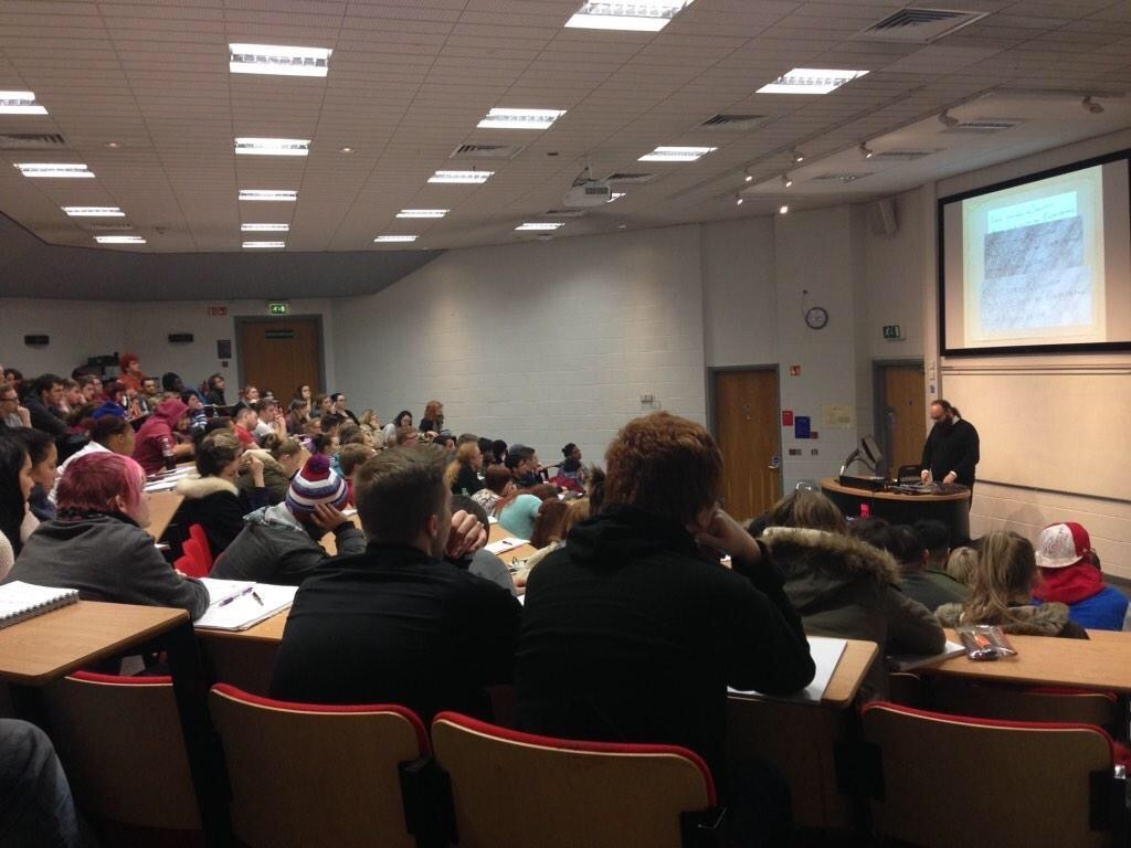 """Διάλεξη """"Case Studies in Document Analysis"""" στο Staffordshire University 13-11-2014"""