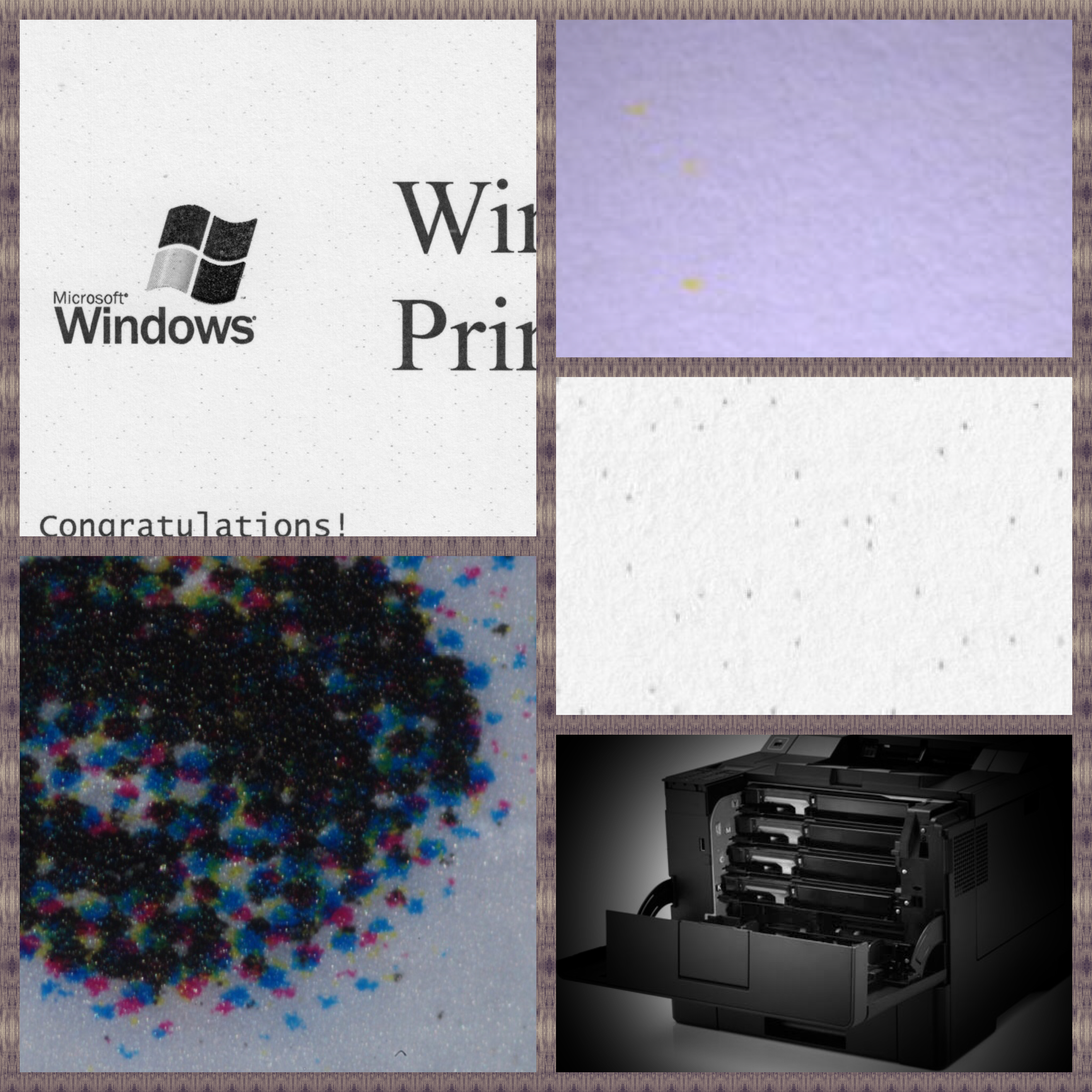 "New workshop ""Identification of colour laser printers"" : Workshop (GRW01)"