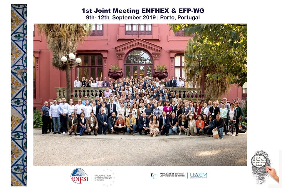 1ο κοινό συνέδριο European Network of Forensic Handwriting Experts (ENFHEX) & European Fingerprint Working Group (EFP-WG)